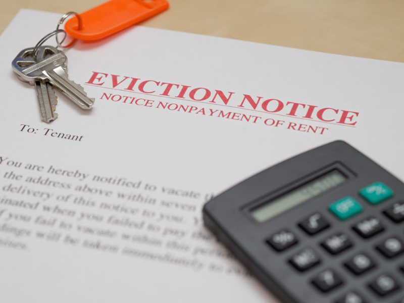 How to write an eviction letter
